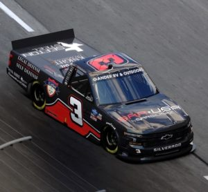 "Jordan Anderson Debuts ""Race to Freedom"" Truck with three new partners at Texas Motor Speedway"