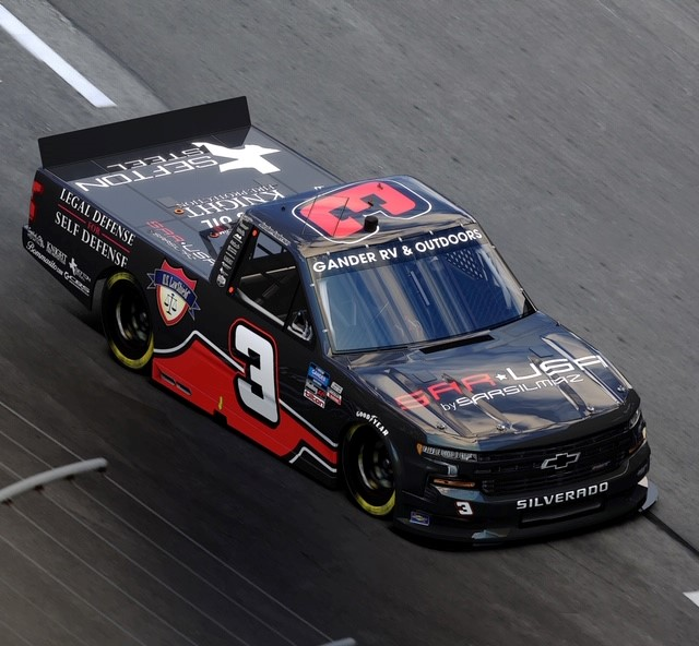 Jordan Anderson Race to Freedom Truck 1