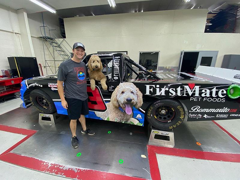 Jordan Anderson Racing Las Vegas Pet Truck Brecks