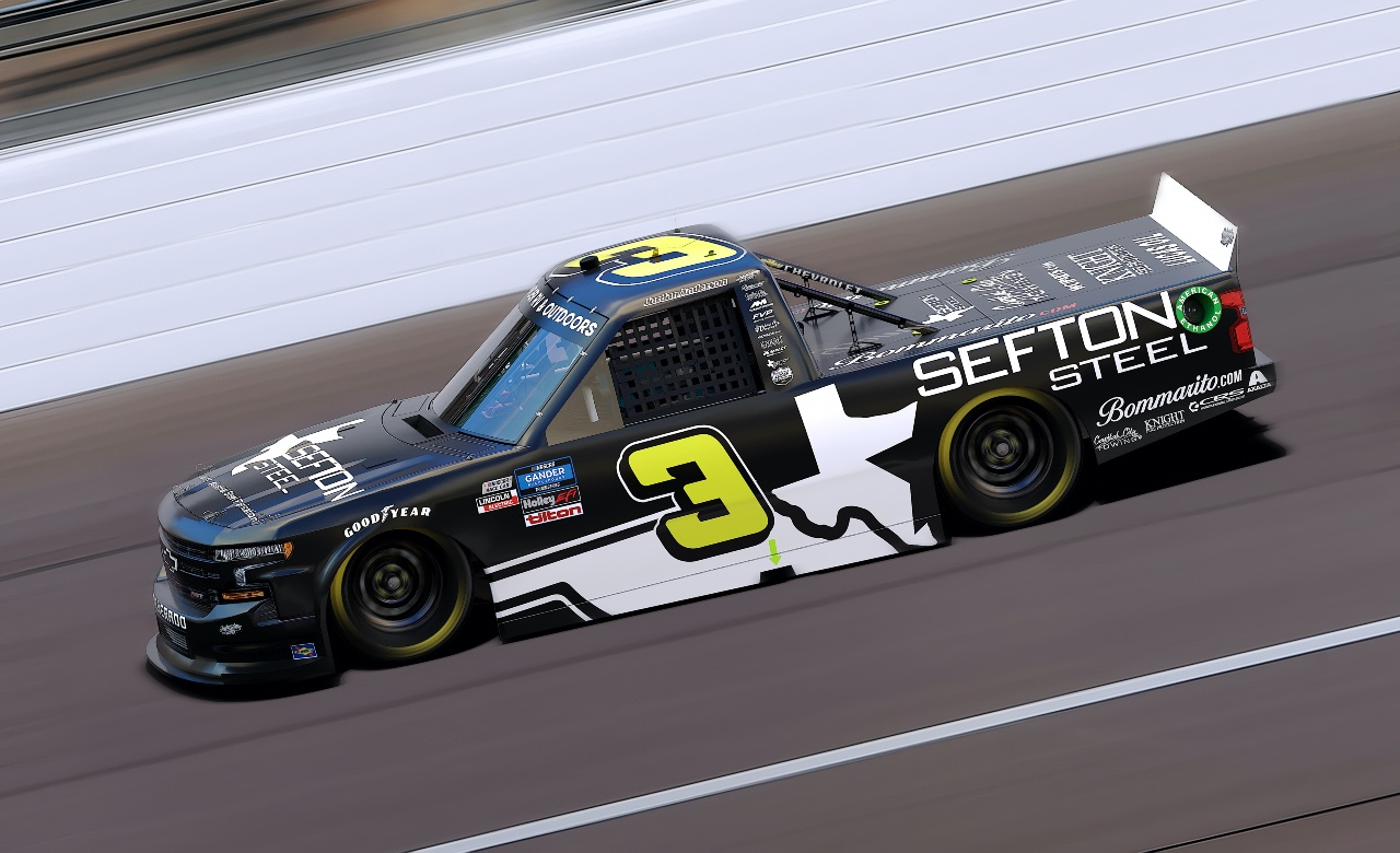 Sefton Steel Partners with Jordan Anderson Racing for Texas Motor Speedway