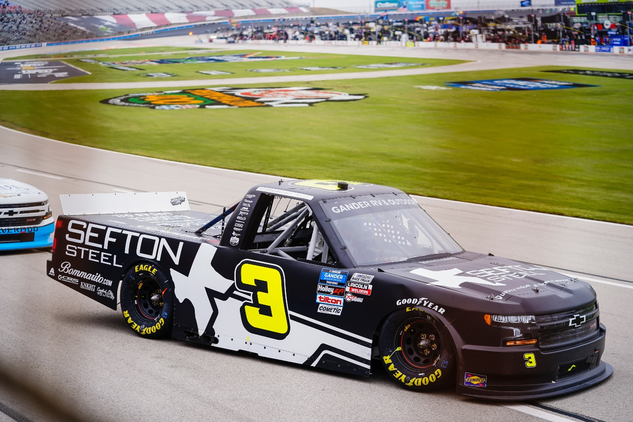 Sefton Steel and Jordan Anderson Grab a Top 15 Finish at Texas Motor Speedway
