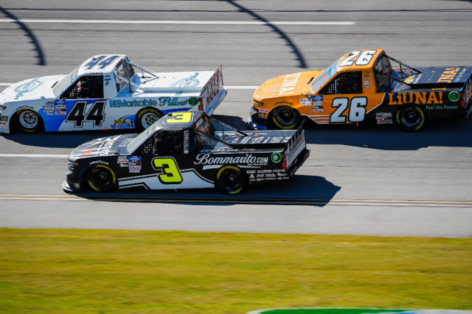 Jordan Anderson Races to Sixth Place Finish at Talladega Superspeedway