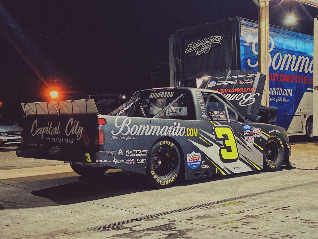 Jordan Anderson Racing NASCAR Gander RV and Outdoors Truck Series Race Overview- Phoenix Raceway; Friday, November 6, 2020