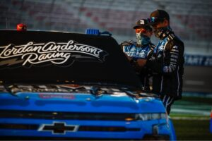 Jordan Anderson, Jordan Anderson Racing, NASCAR, Gander RV & Outdoors Trucks Series, Bommarito.com, Bommarito Automotive Group, Lucas Oil, Capital City Towing, Knight Fire Protection, World of Westgate 200, Las Vegas Motor Speedway, September 25, 2020, FirstMate Pet Food, Pet Partners