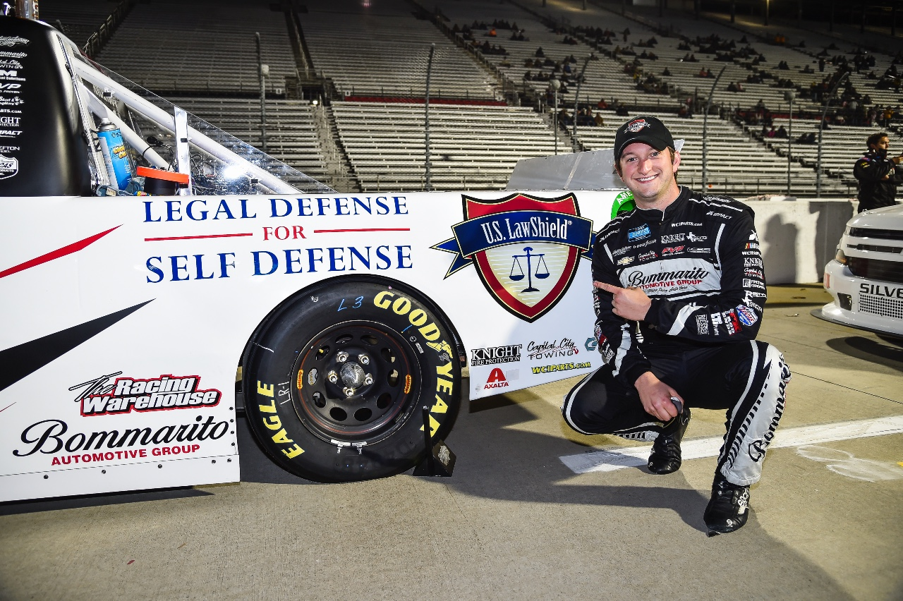 U.S. LawShield / USSF #GunVote and Jordan Anderson Race to a Top 20 at Martinsville Speedway
