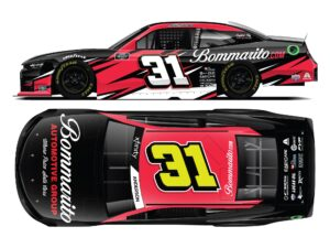 NOW AVAILABLE FOR ORDER; 2021 Jordan Anderson No. 31 Bommarito.com Chevrolet Camaro Die-Cast