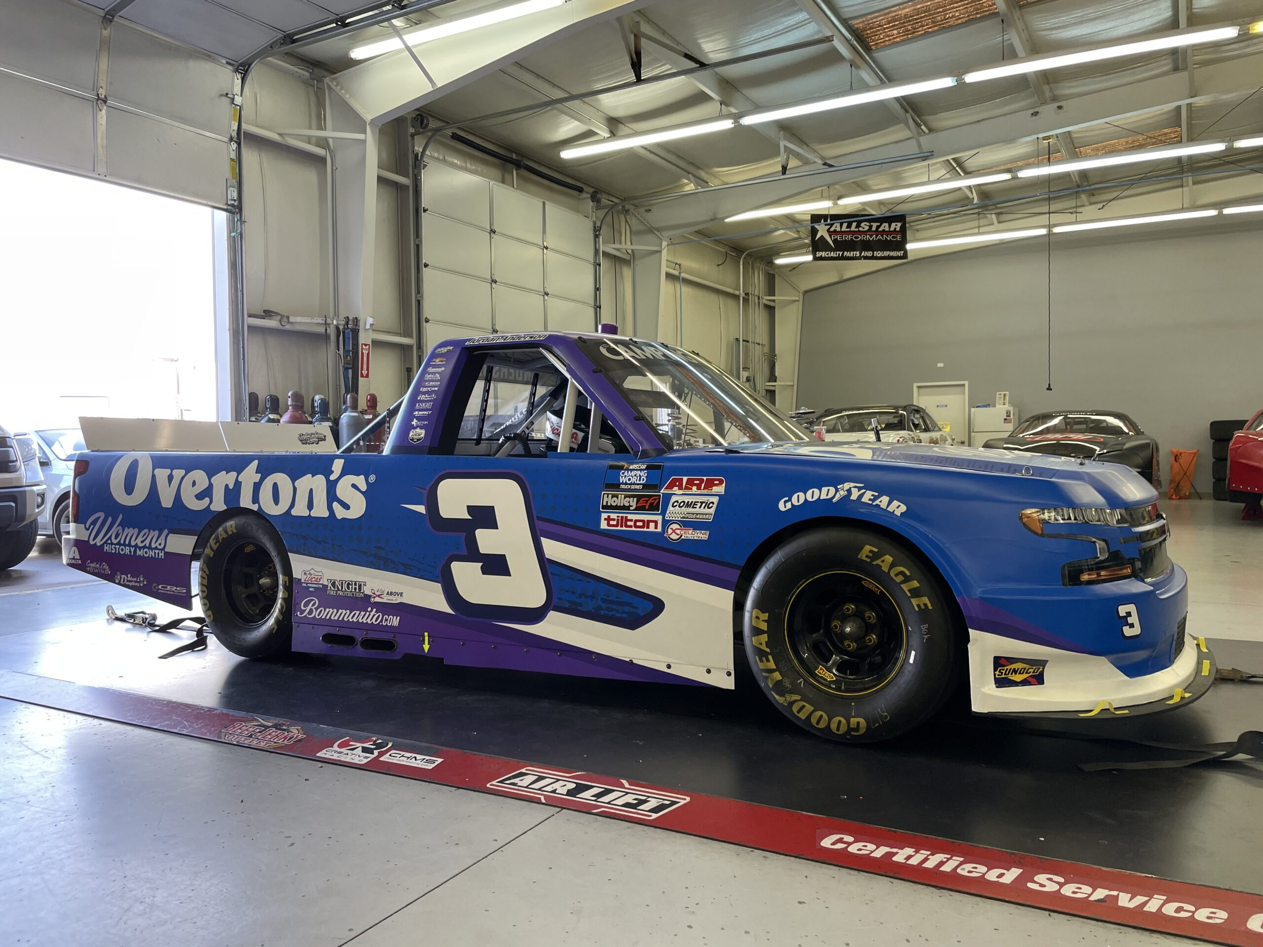 Jordan Anderson Racing NASCAR Camping World Truck Series Race Overview- Atlanta Motor Speedway; Saturday, March 20, 2021