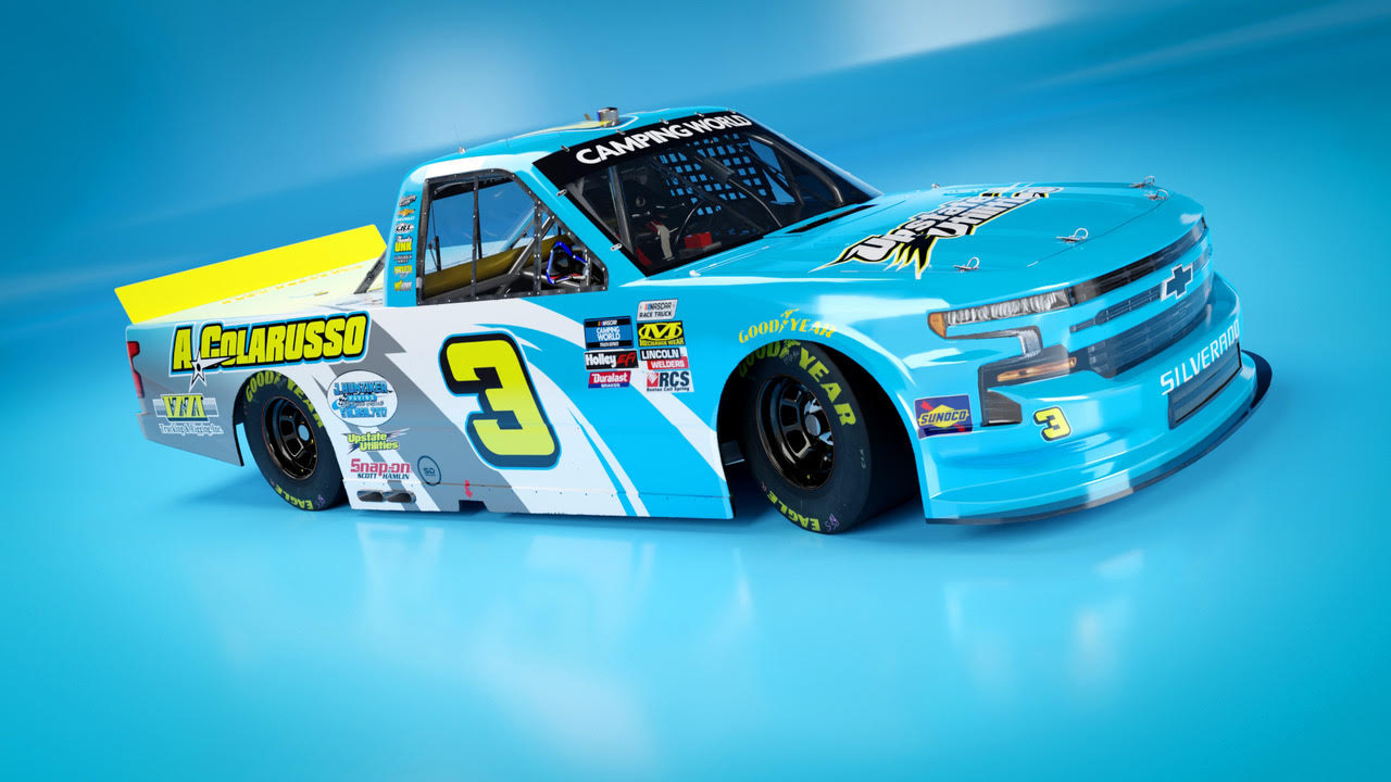 J.R. Heffner Partners with Jordan Anderson Racing for Bristol Dirt NASCAR Camping World Truck Series Race