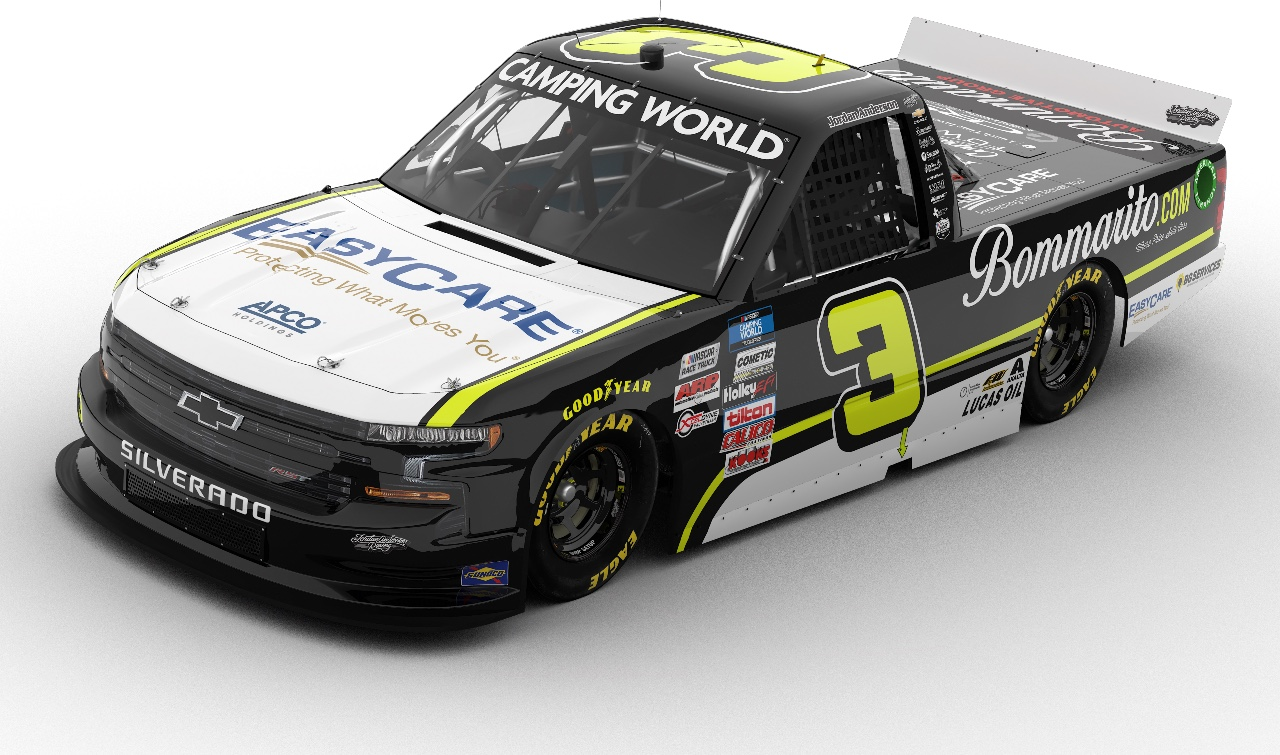 Bommarito Automotive Group the Center Link for Jordan Anderson Racing at Kansas