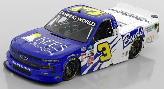 Howie DiSavino III to make Truck Series debut at Richmond Raceway for Jordan Anderson Racing