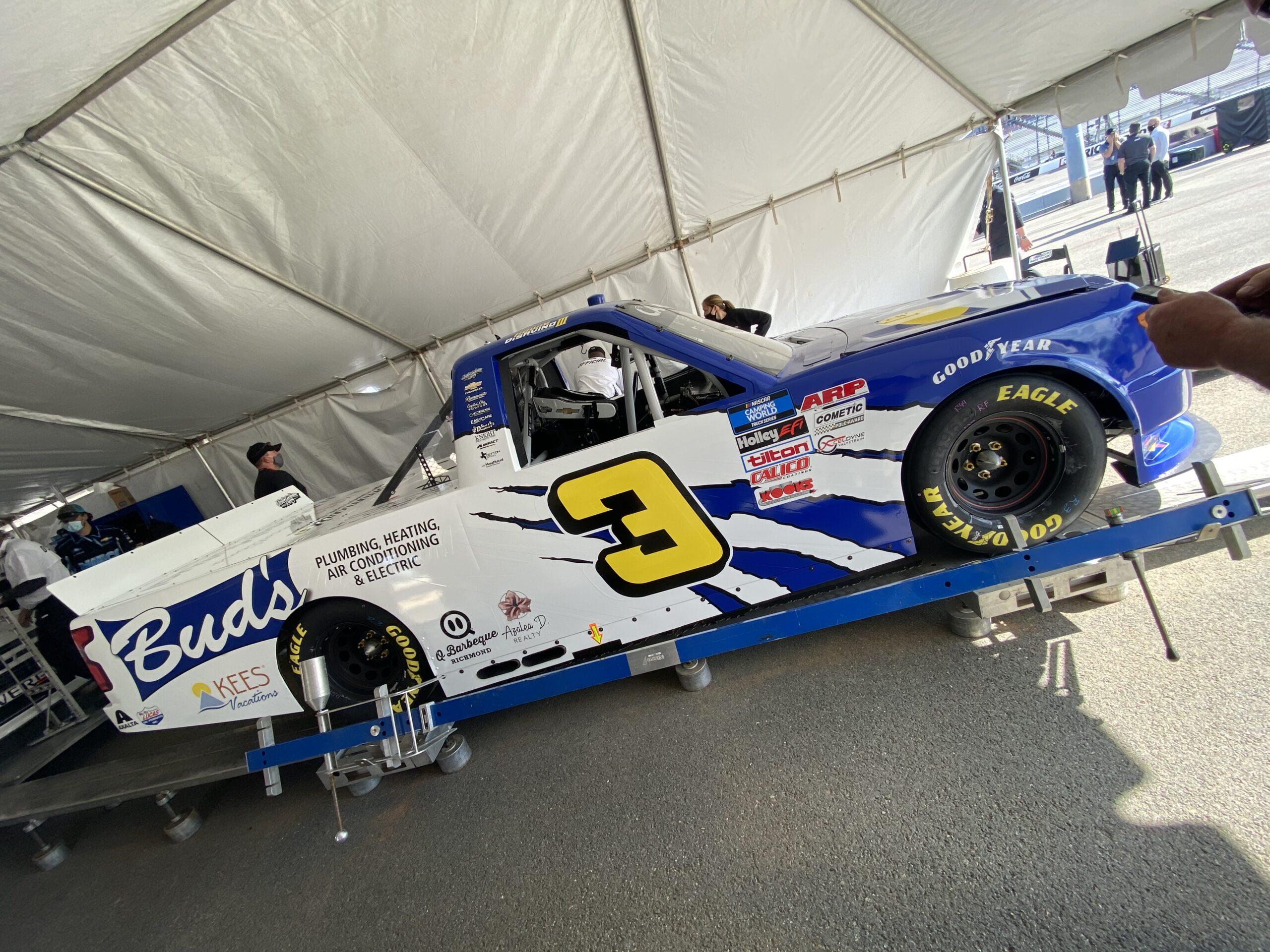 Jordan Anderson Racing NASCAR Camping World Truck Series Race Overview- Richmond Raceway; Saturday, April 17, 2021