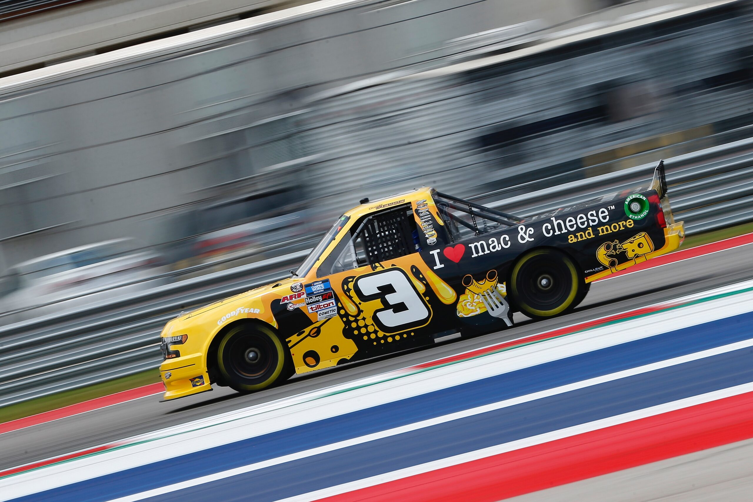 Jordan Anderson Racing NASCAR Camping World Truck Series Race Overview- Circuit of the Americas; Saturday, May 22, 2021