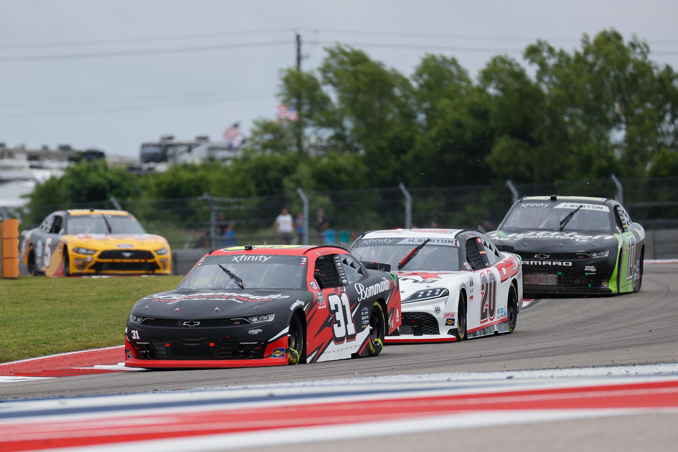 Tyler Reddick Races to Top-Ten Finish in JAR Debut at COTA