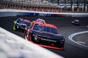 Reddick Races to Top-Five For Jordan Anderson Racing at Charlotte Motor Speedway
