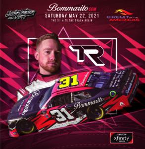 Tyler Reddick to Drive for Jordan Anderson Racing in NASCAR Xfinity Series