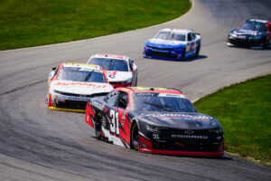 Josh Berry Earns Jordan Anderson Racing Third Consecutive Top- Ten Finish in Road Course Debut at Mid-Ohio