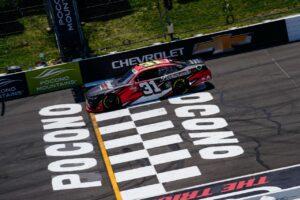 Josh Berry Claims Fourth Top-Ten for JAR in Xfinity Series at Pocono Raceway