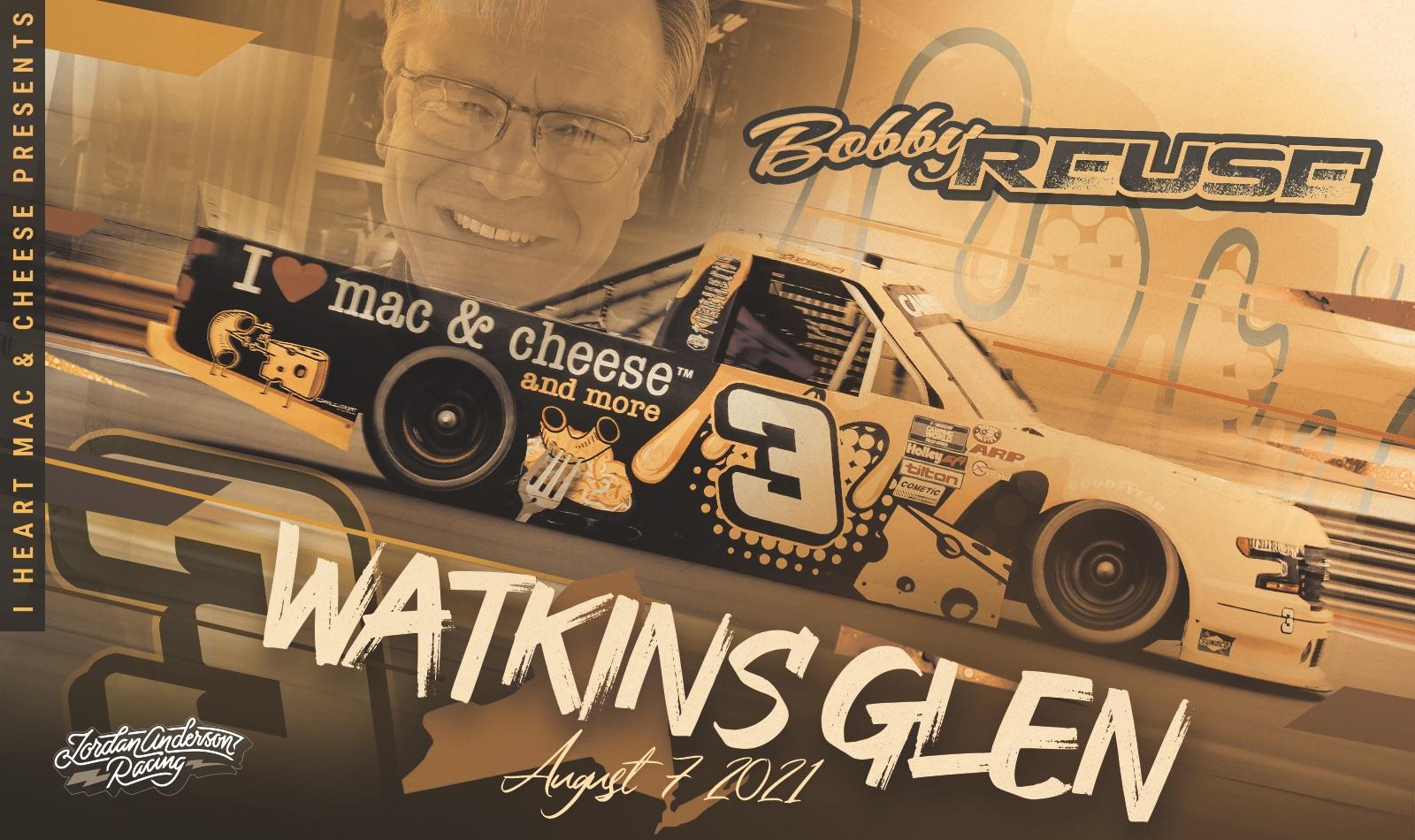 Jordan Anderson Racing NASCAR Camping World Truck Series Race Overview- Watkins Glen International; August 7, 2021