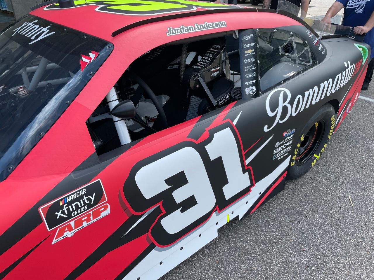 Jordan Anderson Racing NASCAR Xfinity Series Race Overview- Michigan International Speedway; August 21, 2021