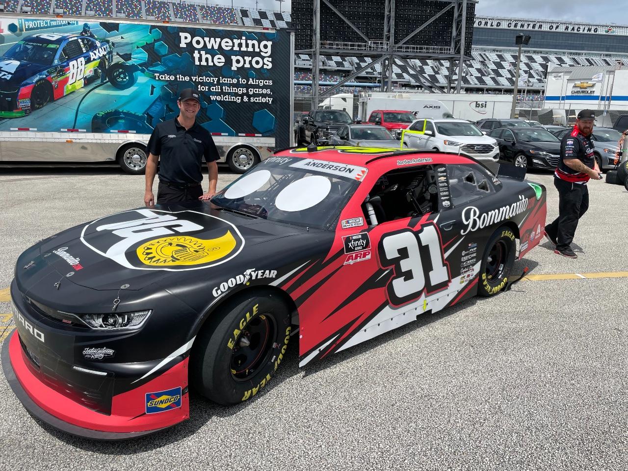 Jordan Anderson Racing NASCAR Xfinity Series Race Overview- Daytona International Speedway; August 27, 2021
