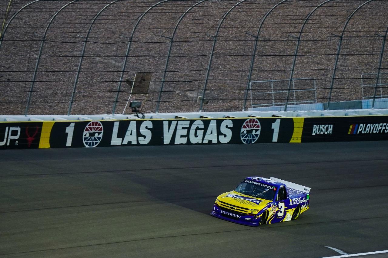 Jordan Anderson Racing NASCAR Camping World Truck Series Race Report – Las Vegas Motor Speedway; September 24, 2021