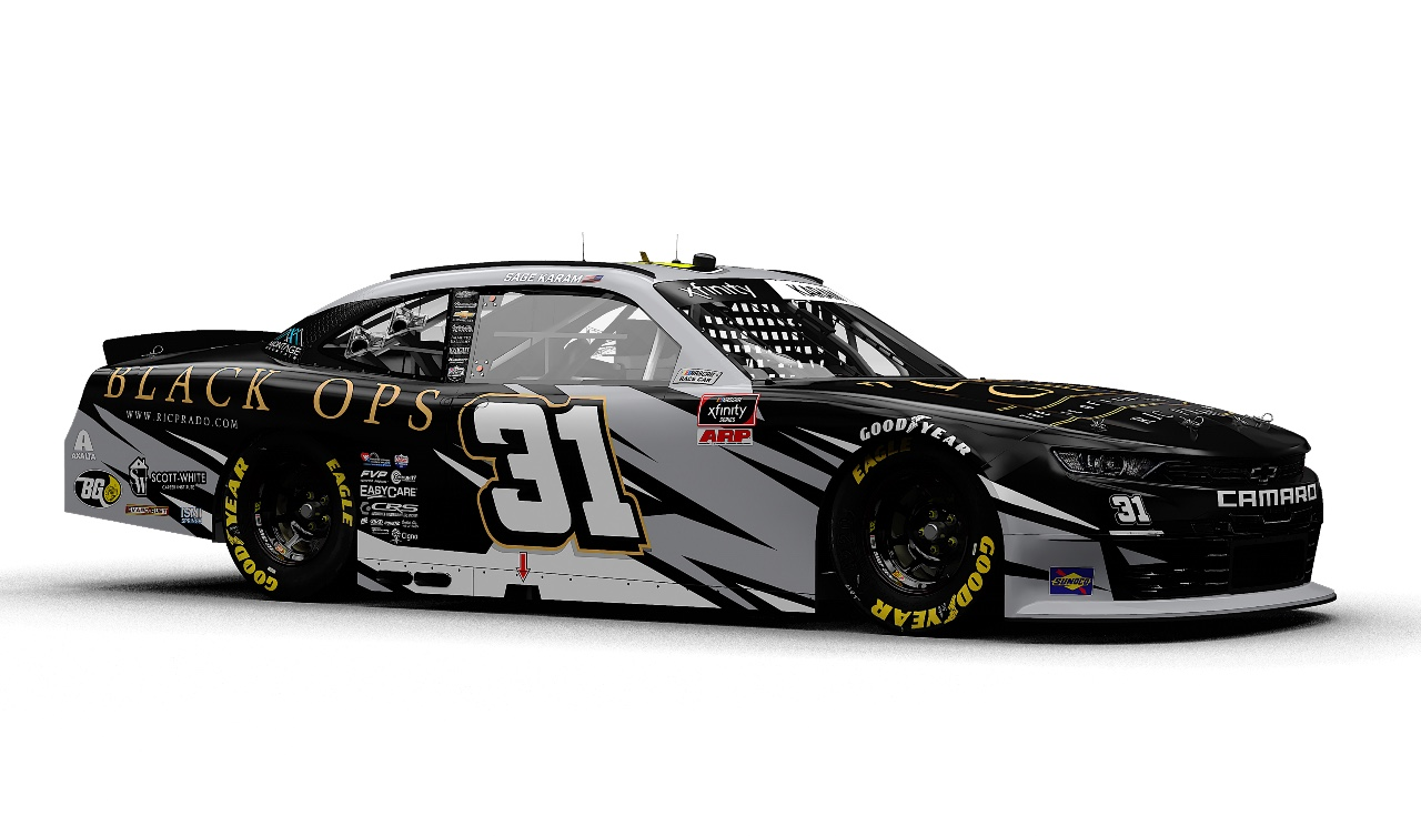 Respected High Ranking Former CIA Warrior Partners with Sage Karam for Xfinity Race at Charlotte Roval